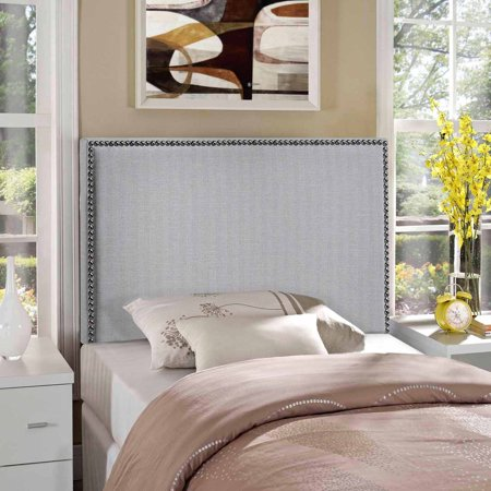 Modway Region Twin Nailhead Upholstered Headboard  Multiple Colors
