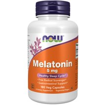 Sleep Aids: NOW Supplements Melatonin