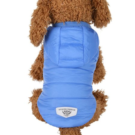 Winter Warm Padded Thickening Vest Coat Dog Costumes Pet Clothes
