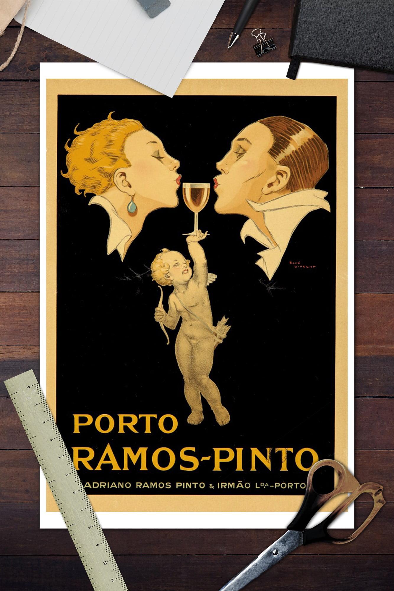 16x24 Porto Ramos-Pinto Rene Vincent Classic 1920 Art Poster