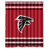 Product Image DEYOU Atlanta Falcons Shower Curtain Polyester Fabric Bathroom Size 60x72 Inch