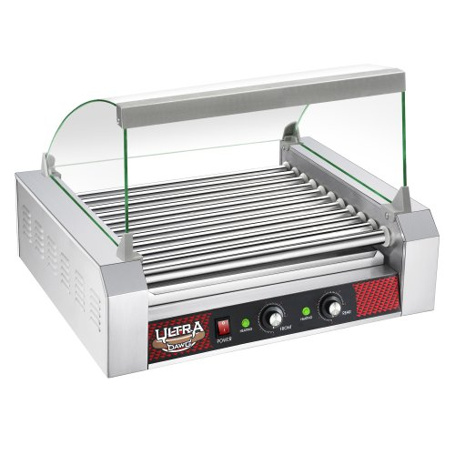 11 Roller Commercial Grilling Machine with Cover
