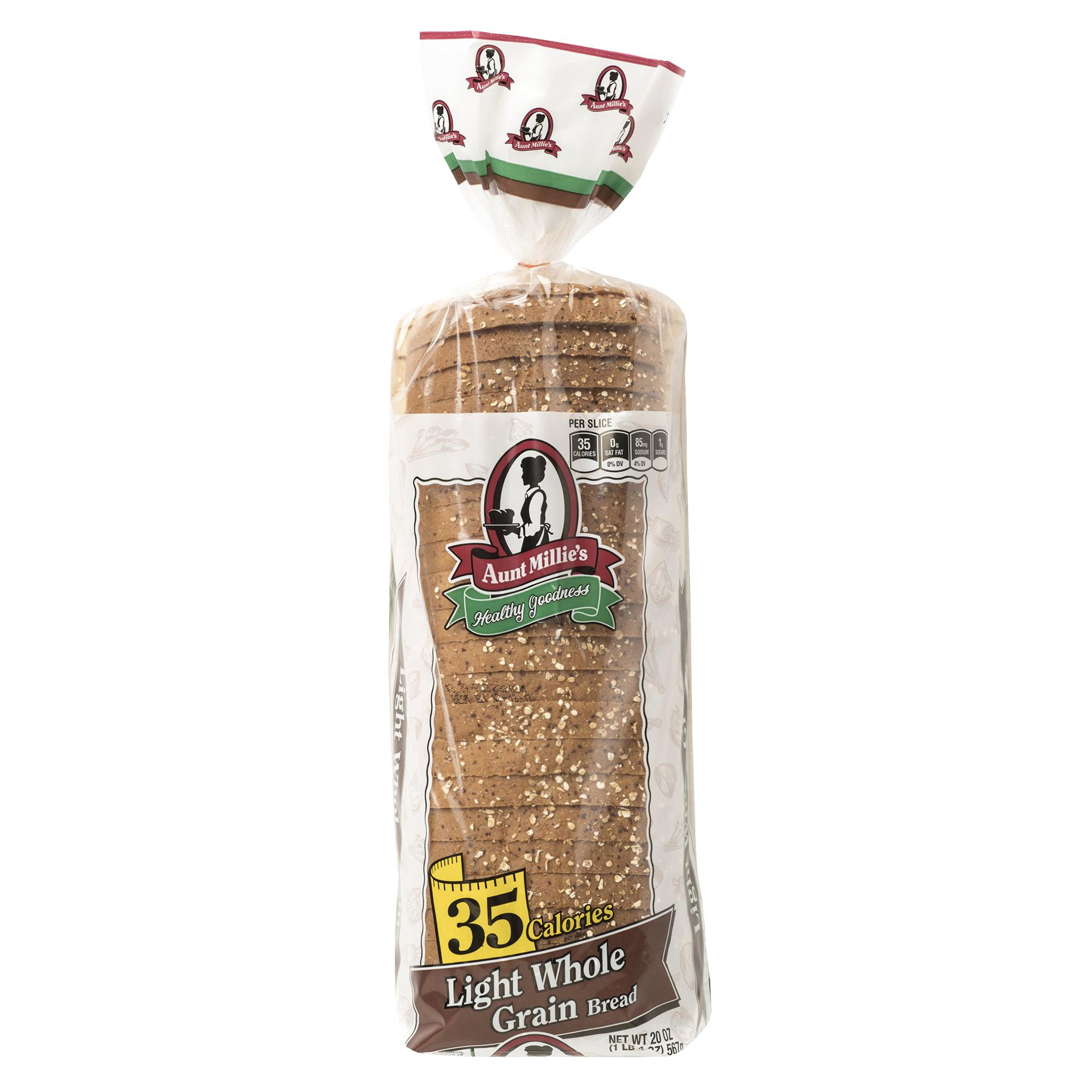 Aunt Millie's 35 Calorie Whole Grain Bread, 20 oz.