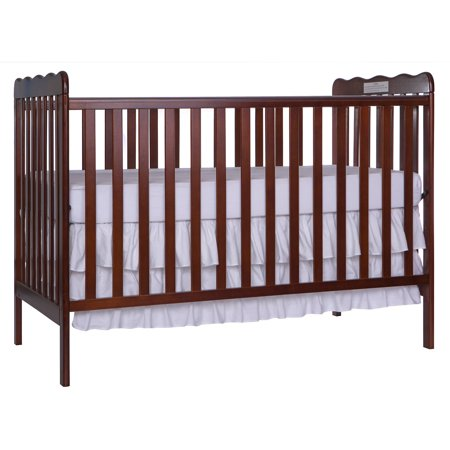 Dream On Me Classic 3-in-1 Convertible Crib Espresso