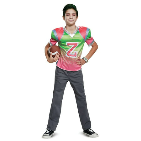 Boys Disney Zombies Zed Football Jersey Costume (Zombie Costume Ideas For Boys)