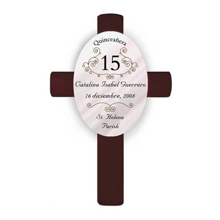 Personalized Quinceanera Cross (Personalized Crosses)