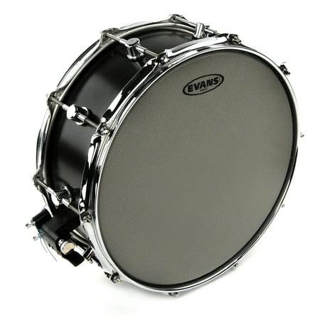 Evans Hybrid Coated Snare Batter Drum Head, 14 (Evans Hybrid Marching Snare Drum Batter Head)