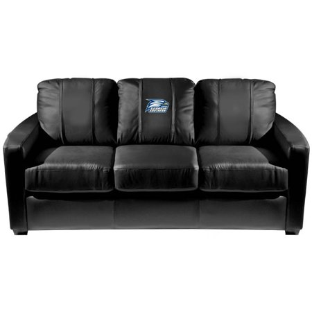 Georgia Couch (Georgia Southern University Collegiate Silver Sofa with Eagles logo )