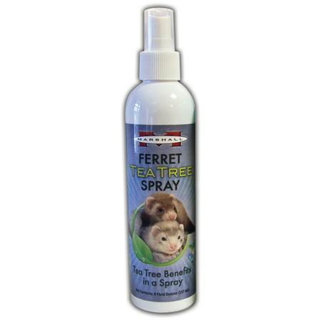 Marshall Pet Products-Ferret Tea Tree Spray 8 Oz