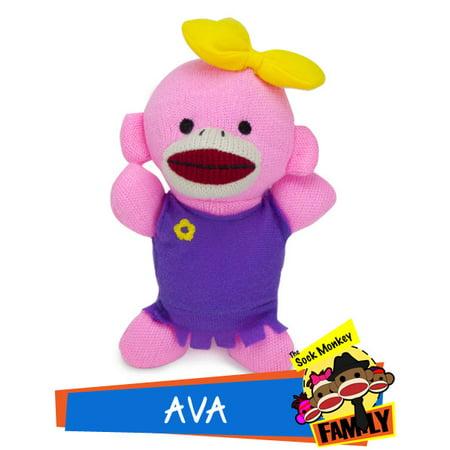 - Ava from The Sock Monkey Family