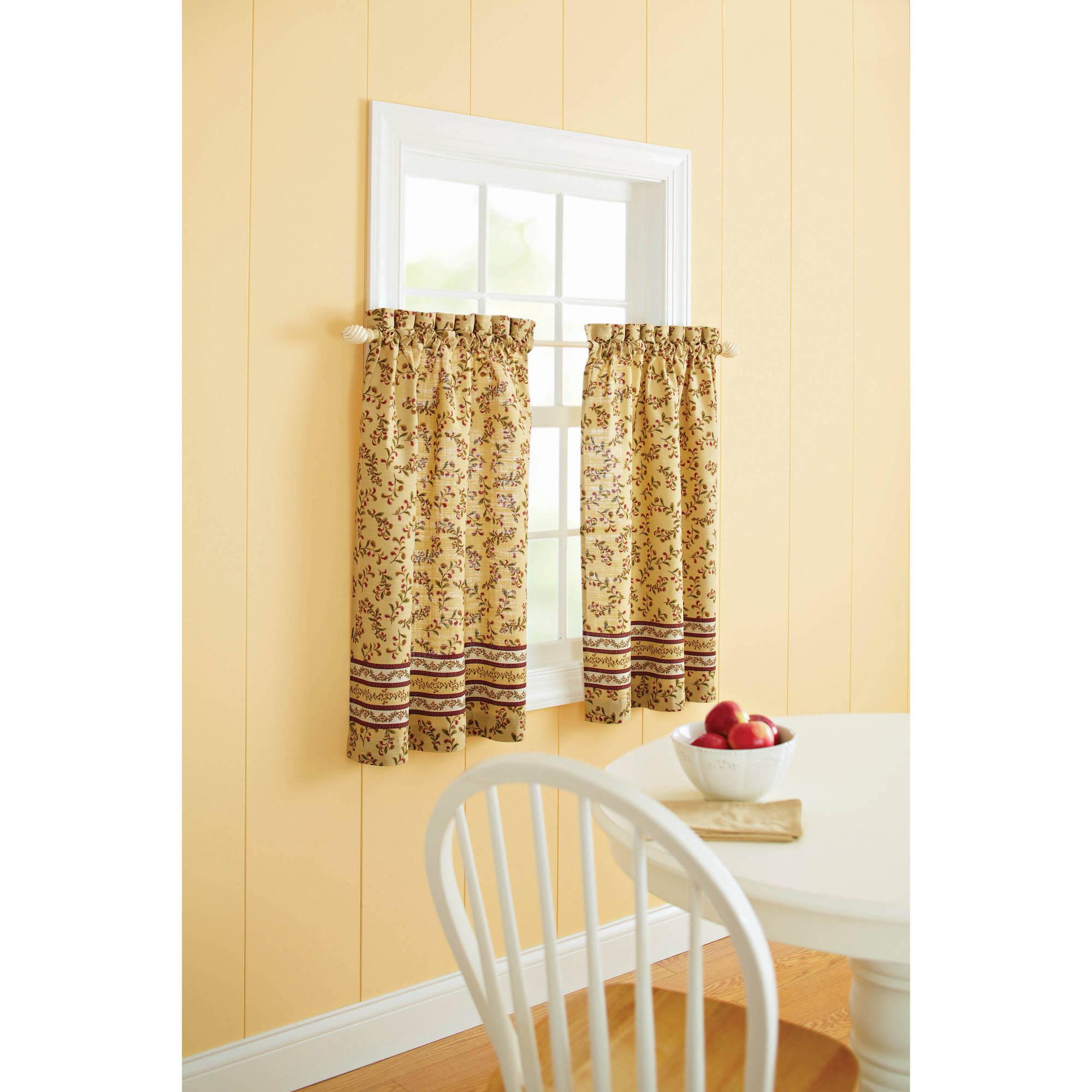 better homes and gardens tuscan retreat valance or kitchen