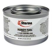 STE 20660 189.9 g Handy Fuel Methanol Gel Chafing Fuel, Two-Hour Burn