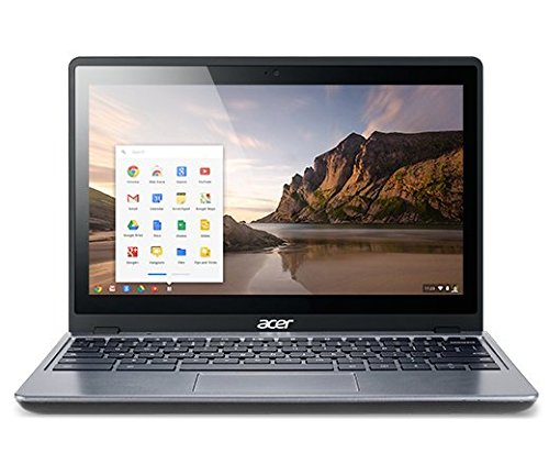 "Acer Granite Gray 11.6"" C720-2827 Chromebook PC with Intel Celeron 2955U Processor, 2GB Memory, 16GB SSD and Chrome OS"