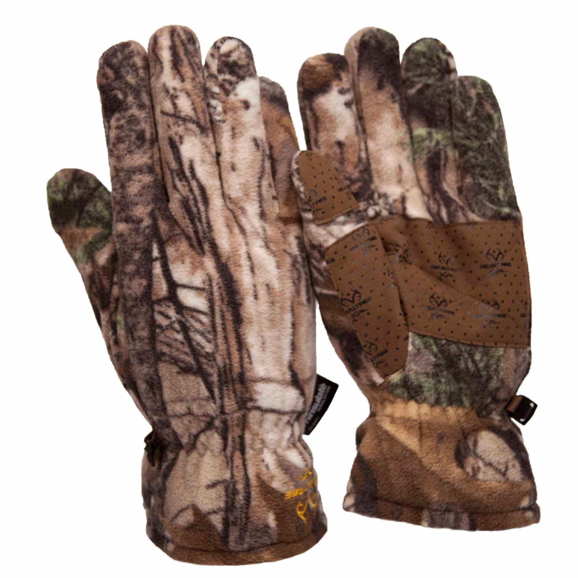 Xtra Men's Insulated Fleece Gloves by LUCKY ZONE DESIGN