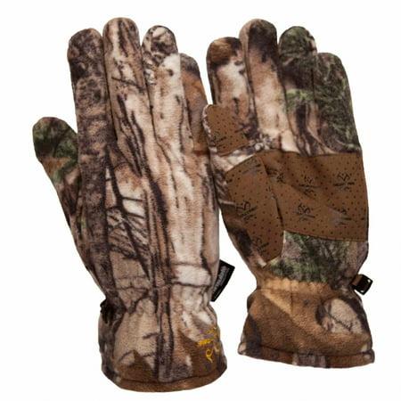 - Realtree Xtra Men's Insulated Fleece Gloves