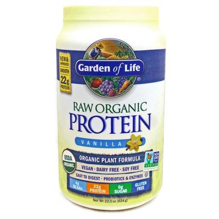 Raw Protein Vanilla By Garden Of Life 22 Ounces