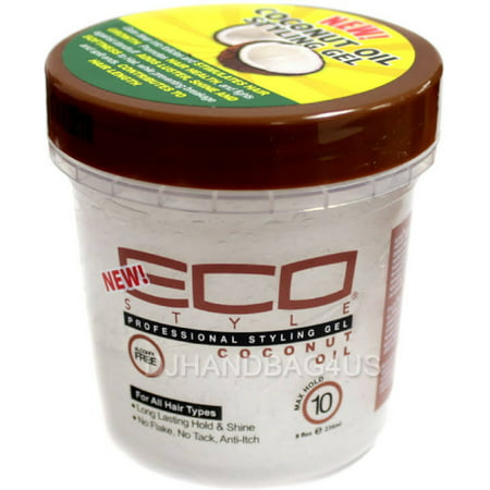 ECO Styler Professional Styling Gel, Coconut Oil, Max Hold 8 (Gel Styler)