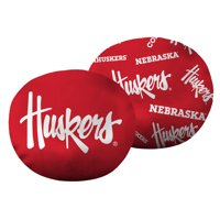 """NCAA Nebraska Cornhuskers 11"""" Cloud Pillow, 1 Each"""