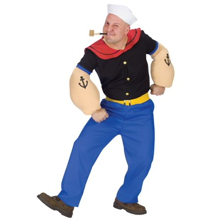 Adult Popeye Costume - Popeye Costume For Adults