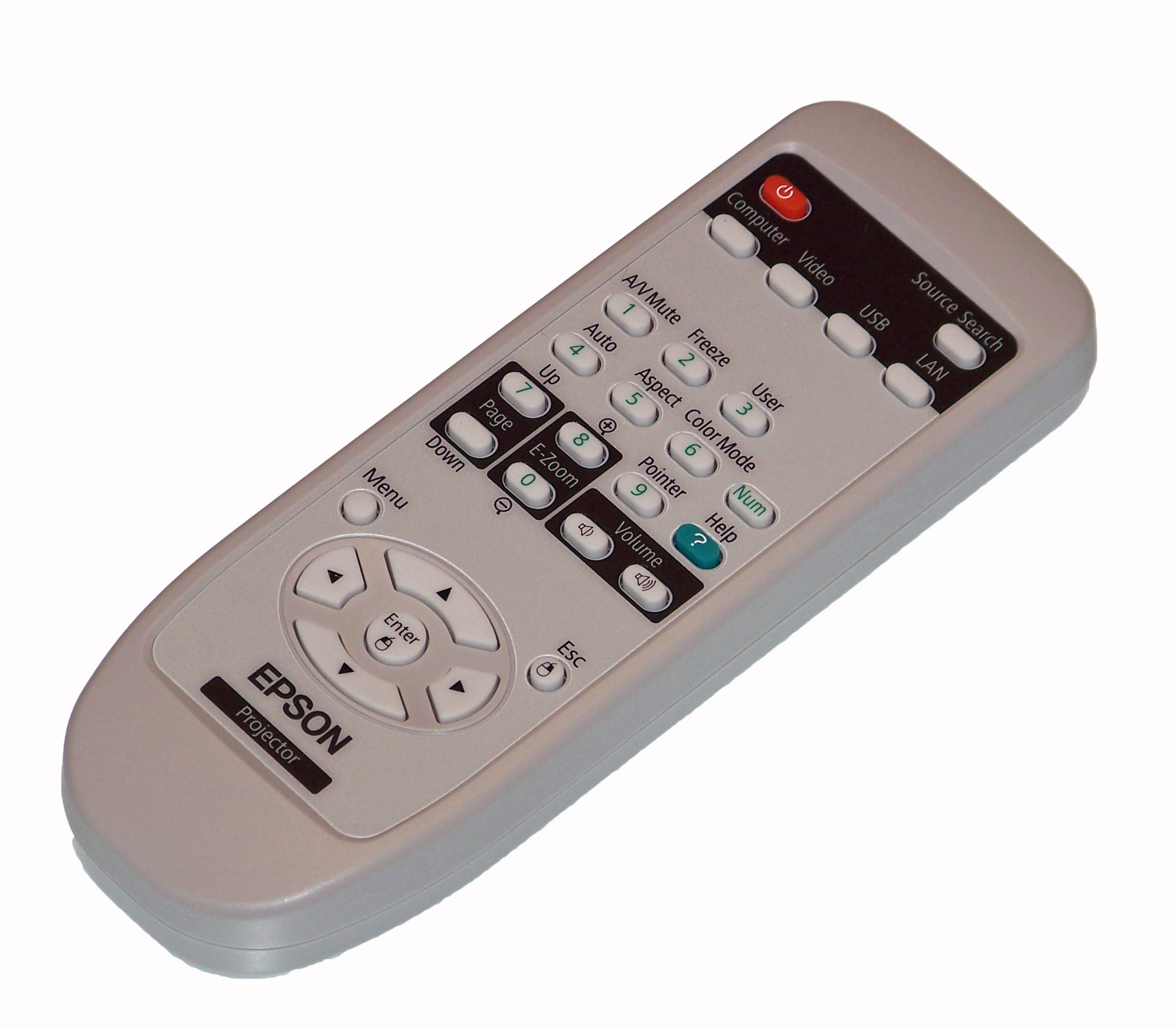 OEM Epson Remote Control Originally Shipped With EH-TW5300 EH-TW5210 EH-TW5350
