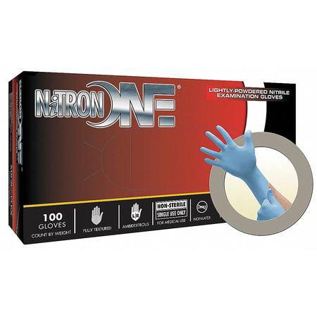 MICROFLEX NO-123-M Disposable Gloves,Nitrile,M,PK100 G7717757