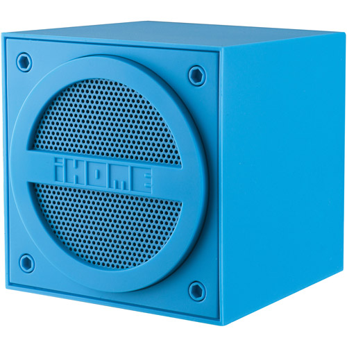 iHome Bluetooth Mini Cube, Blue