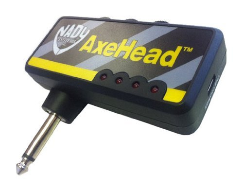 Nady AXHEAD Miniature Guitar Headphone Amp Accs For Accustic electric Guitar bass by NADY
