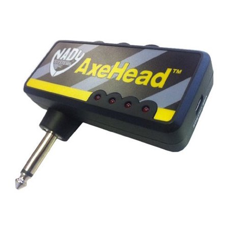 Nady AXHEAD Miniature Guitar Headphone Amp Accs For Accustic/electric