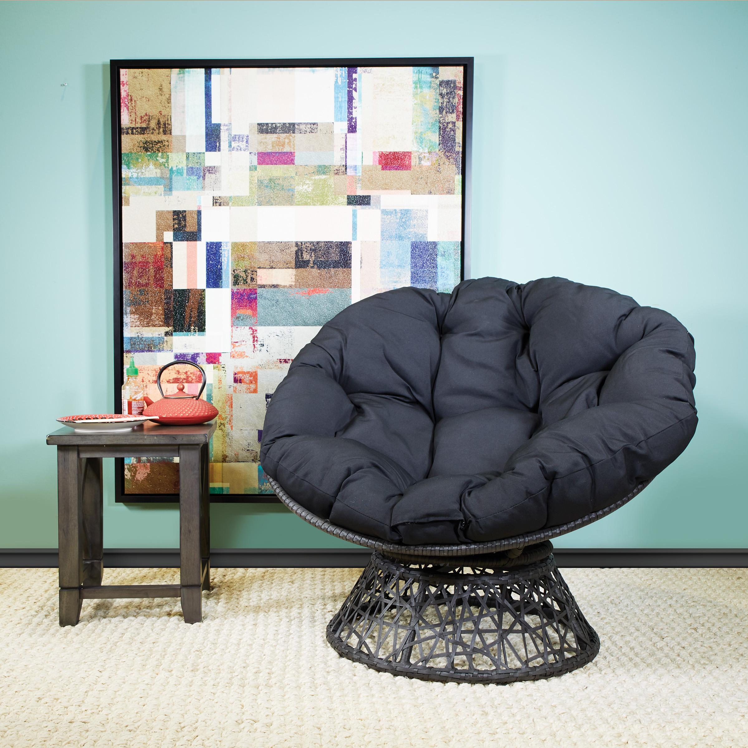 OSP Designs Papasan Chair with Cushion JUST $138.73 (Reg $200)