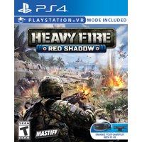 Heavy Fire: Red Shadow, Mastiff, PlayStation 4, 859292000379
