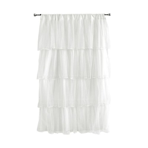 dpnstl00 MultiLayer Tulle Curtain Panel Nursery Window Treatment by Brand New