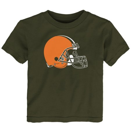 Cleveland Browns Toddler Team Logo T-Shirt - Brown (Cleveland Browns Decor)