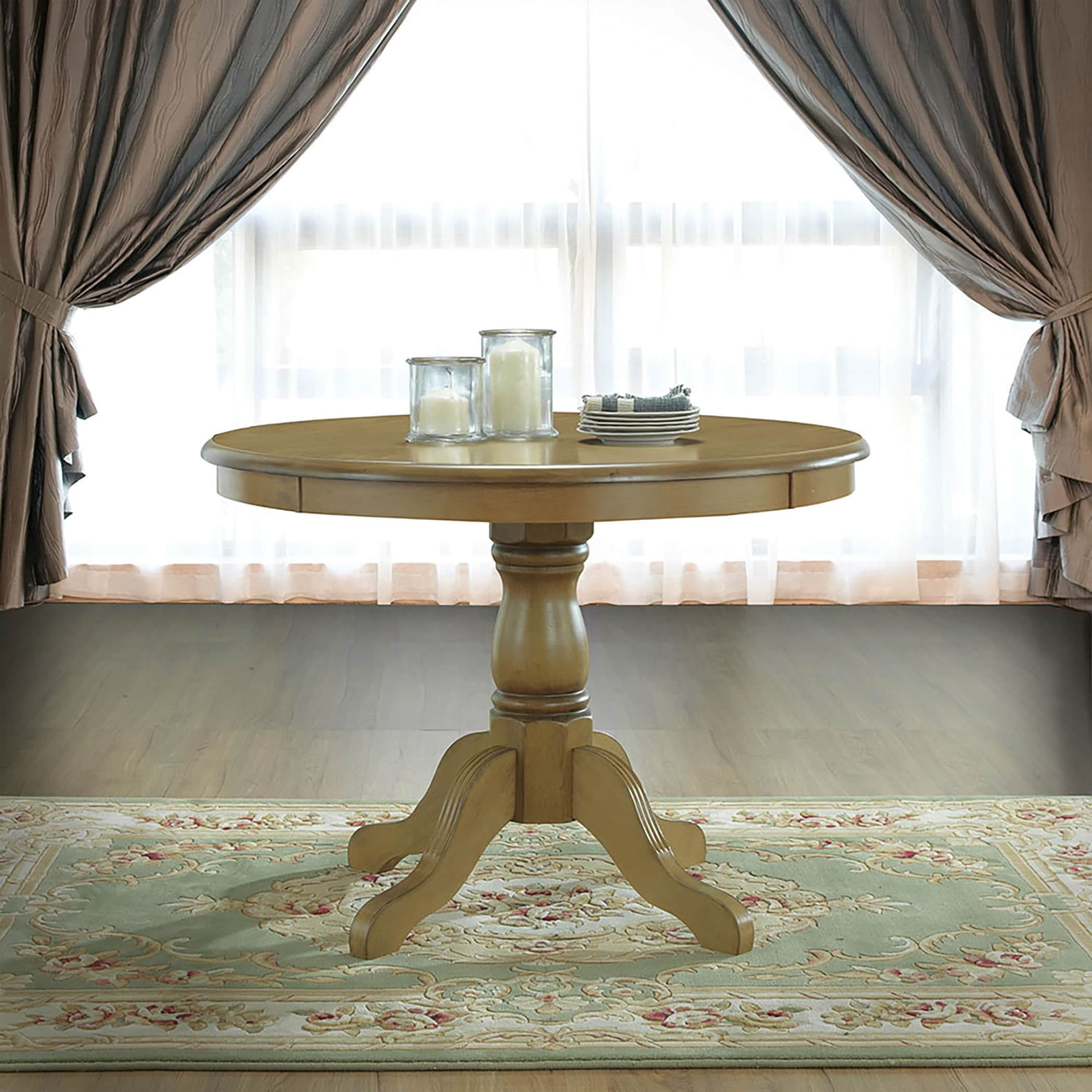 Carolina Chair and Table Ansley Pedestal Dining Table by Overstock
