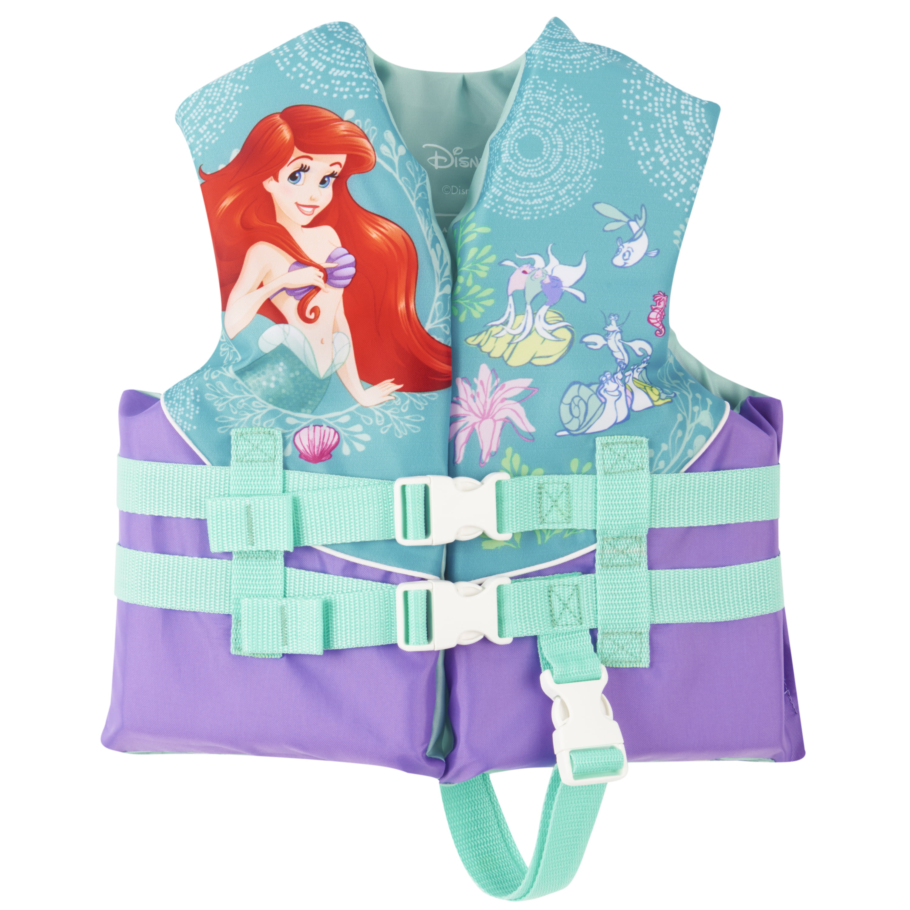 Disney Ariel Child Life Vest (30-50 lbs) by Exxel Outdoors