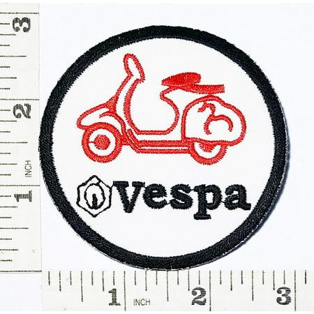 Vespa Moped Scooters Motorcycles Biker patch Symbol Jacket T