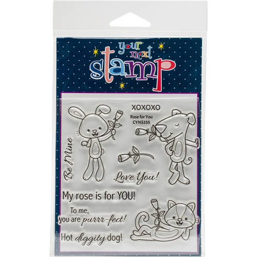 """Your Next Stamp Clear Stamps, 4"""" x 4"""""""