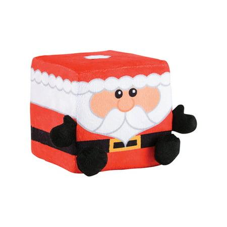 Santa Claus Christmas Winter Season Cube Figure QUBZ Decoration 4.5