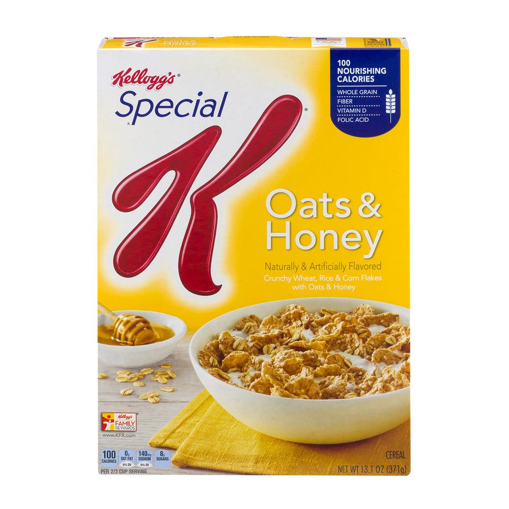 Kellogg's Special K Oats & Honey Cereal, 13.1 OZ