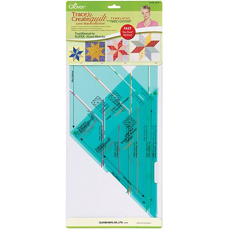 Trace N Create Quilt Templates With Nancy Zieman  Lone Star Collection