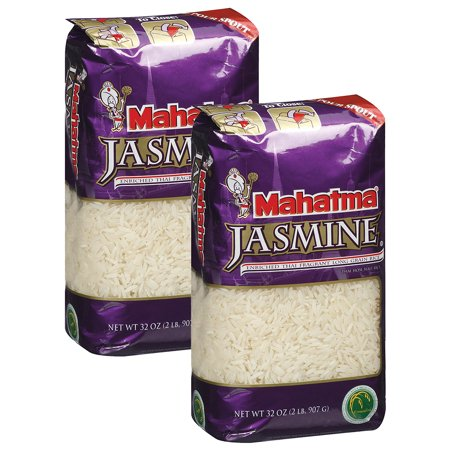 (2 Pack) Mahatma Jasmine Long Grain Rice, 32oz