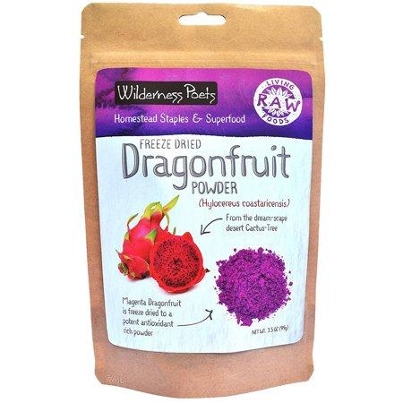 Wilderness Poets  Freeze Dried Dragon Fruit Powder  3 5 oz  99