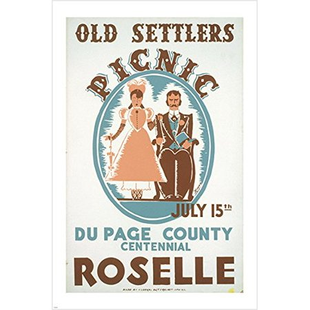 Wpa Public Domain Images Vintage Ad Poster Historic Centennial 24X36