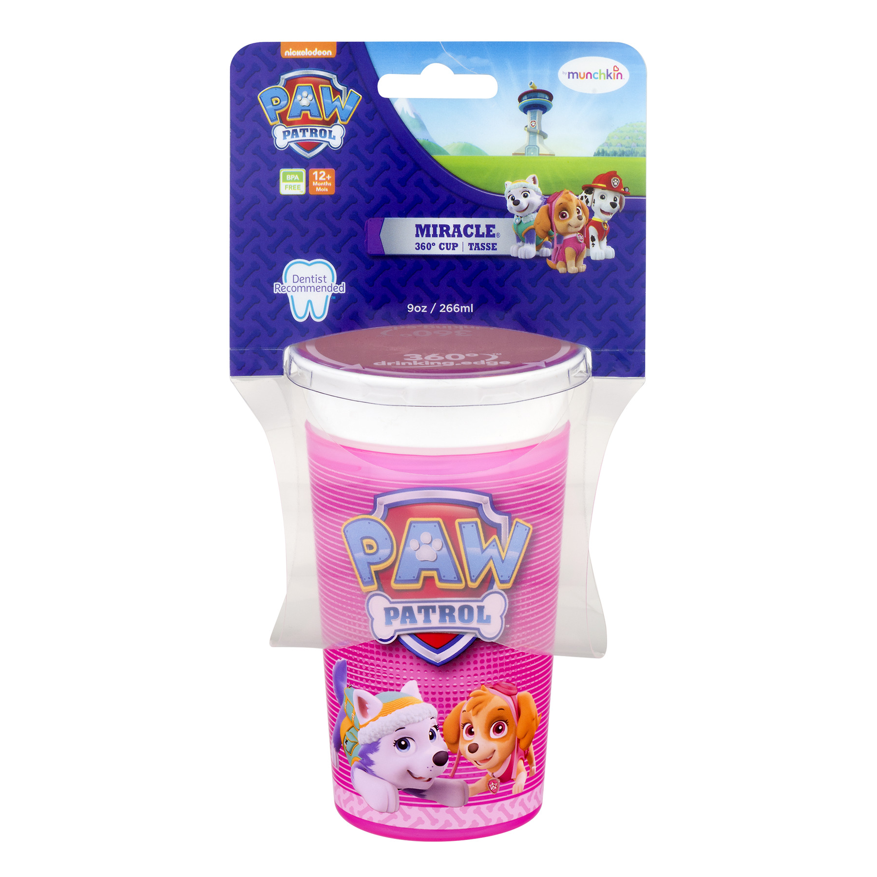Munchkin Miracle 360 Spoutless Sippy Cup Paw Patrol by Munchkin