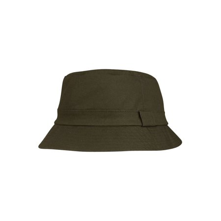 c950626e071127 Juniper Unisex Waxed Cotton Canvas Bucket Hat-J9702 - Brown - Medium -  image 1 ...