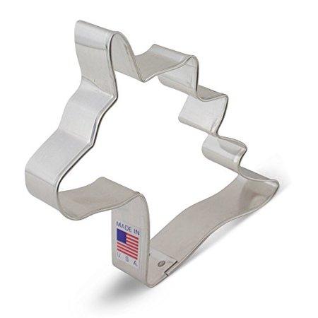 Ann Clark Unicorn Head Cookie Cutter - 4 Inches - Tin Plated Steel ()