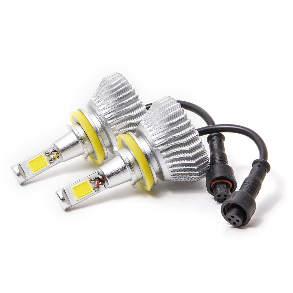 Biltek LED Fog / Driving Light Conversion Bulbs for 2010-2014 Subaru Outback (H11 Bulbs) - image 2 de 4