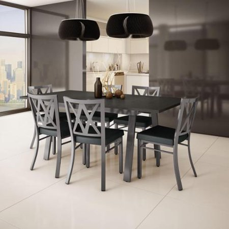 Amisco Amisco Washington Metal Chair Drift Table Dining Set  picture