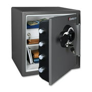 SentrySafe 1.2 cu. ft. Waterproof and Fire Resistant Combination Safe, SFW123DEB