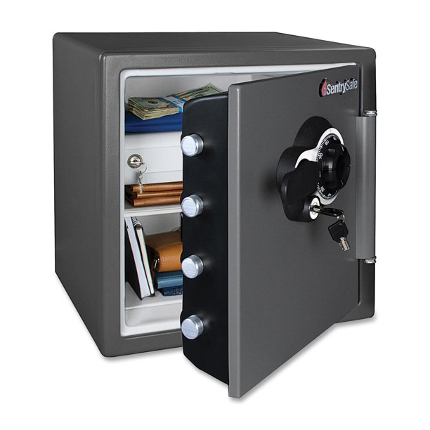 Sentrysafe 1 2 Cu Ft Waterproof And Fire Resistant Combination