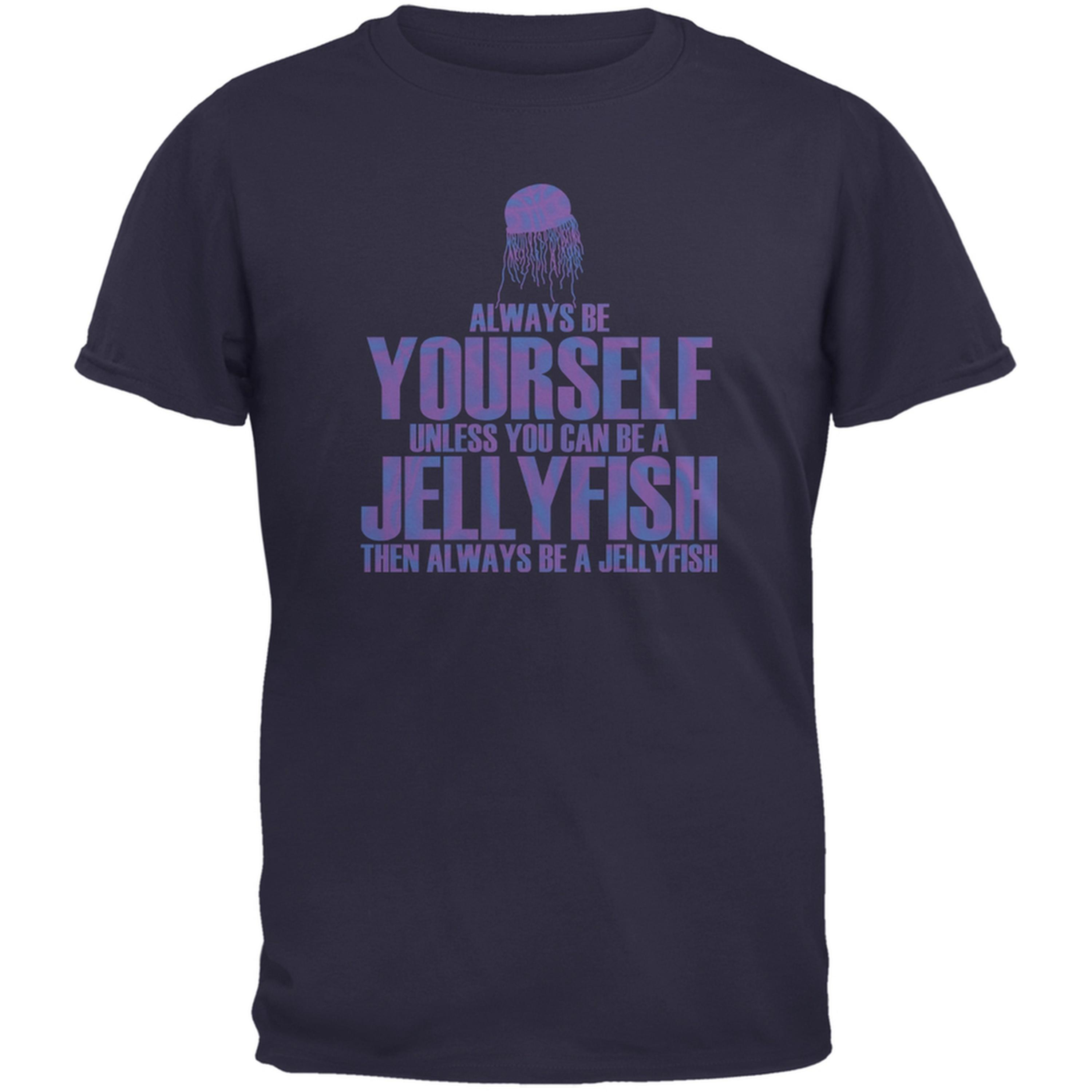 Always Be Yourself Jellyfish Navy Youth T-Shirt